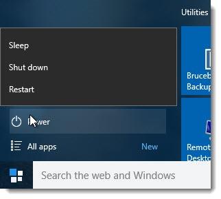 windows10_startmenupower