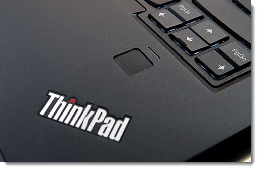 Thinkpad X1 Carbon & Yoga fingerprint reader