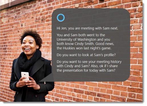 Microsoft - integrating LinkedIn data into Cortana