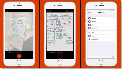 Office Lens - document scanning for OneDrive