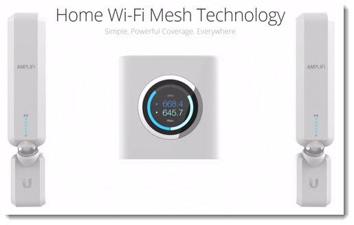 Wi-Fi mesh network: Ubiquiti Amplifi