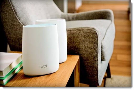Wi-Fi mesh network - Netgear Orbi