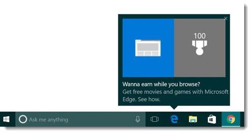 Microsoft Edge - Windows 10 popup ads
