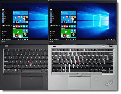 Lenovo Thinkpad X1 Carbon & X1 Yoga - silver & black