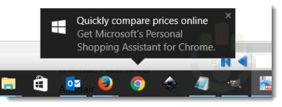 Microsoft Personal Shopping Assistant ad