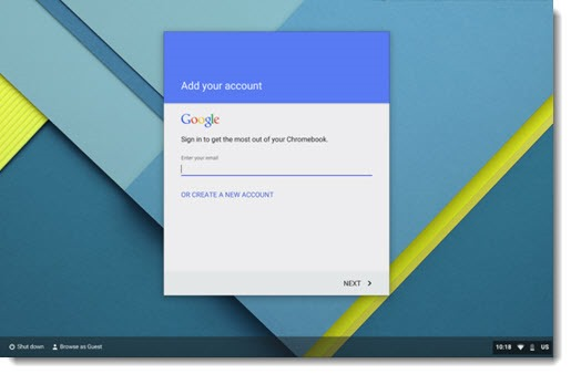 How To Set Up A Chromebook
