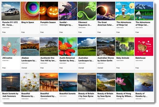 Windows Store Themes