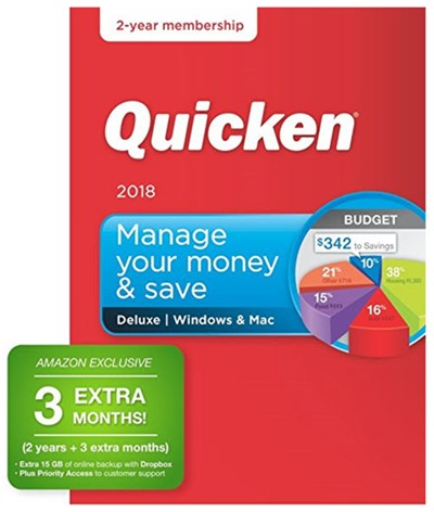 Quicken 2018 - Amazon deal
