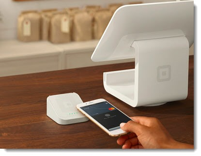 Square payment terminals