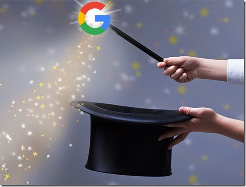 Google magic with artificial intelligence
