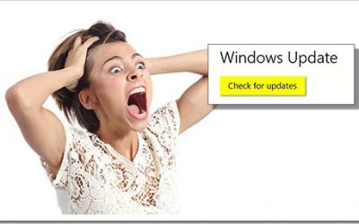Beware Of The Scary Button! Microsoft Mucks Up Another Update