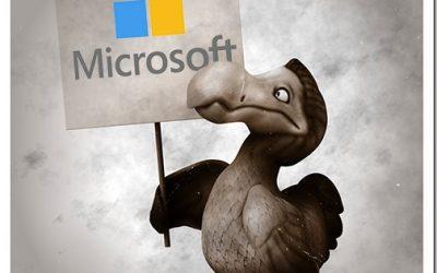 The Microsoft Ecosystem: Evolution And Extinction