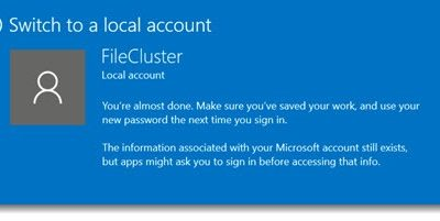 Logging In To A PC With A Microsoft Account Is Overrated