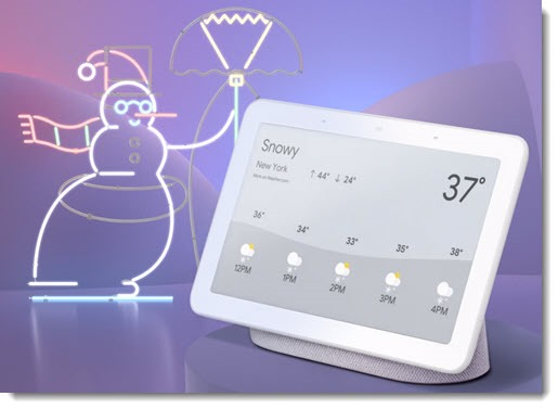 Google Home Hub - the best 2018 home assistant