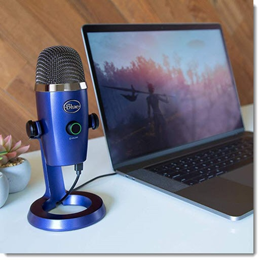 Blue Yeti Nano desk microphone
