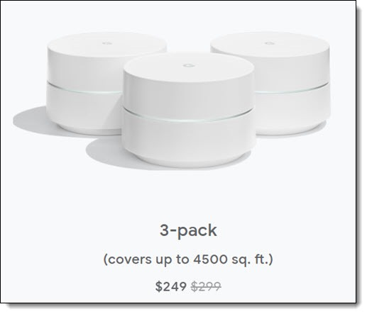 Google Wifi - 3 pack