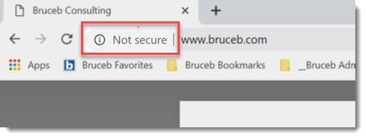 "Why Does Chrome Say A Website Is ""Not Secure""?"