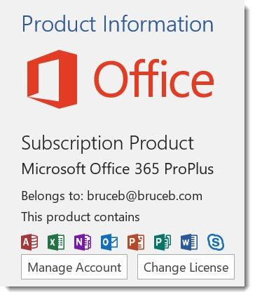 Office 365 program license