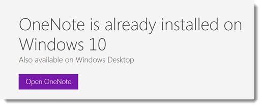 OneNote download options