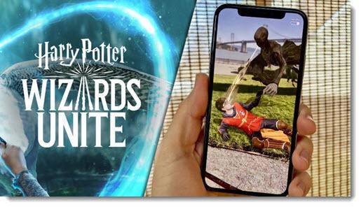 Harry Potter Wizards Unite - the next big AR phone app