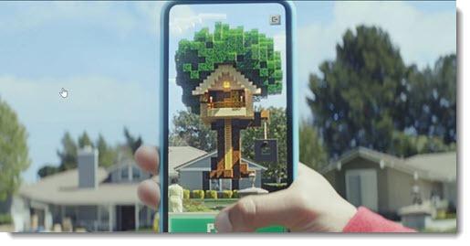 Minecraft Earth - free AR phone app