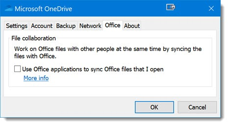 OneDrive - Office integration