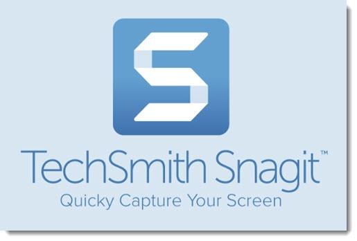 Snagit screen capture program