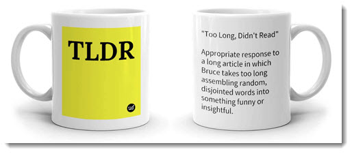Acronyms You Should Know: TL;DR