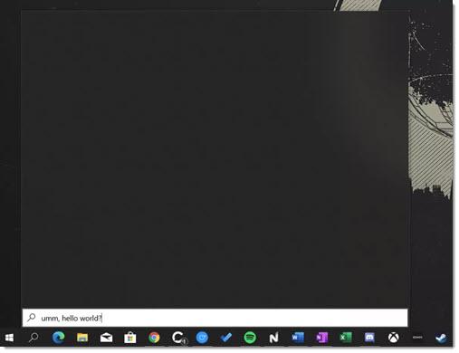 Windows 10 search - broken on February 4, 2020