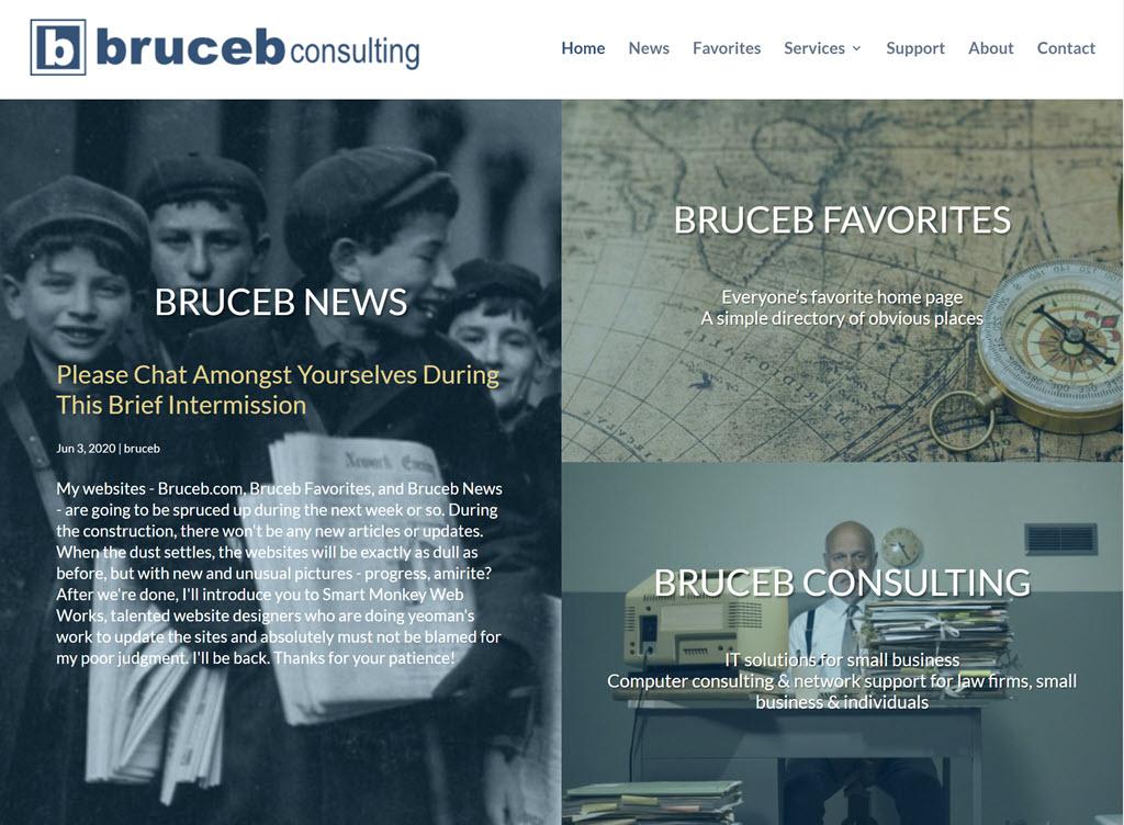 Bruceb.com home page