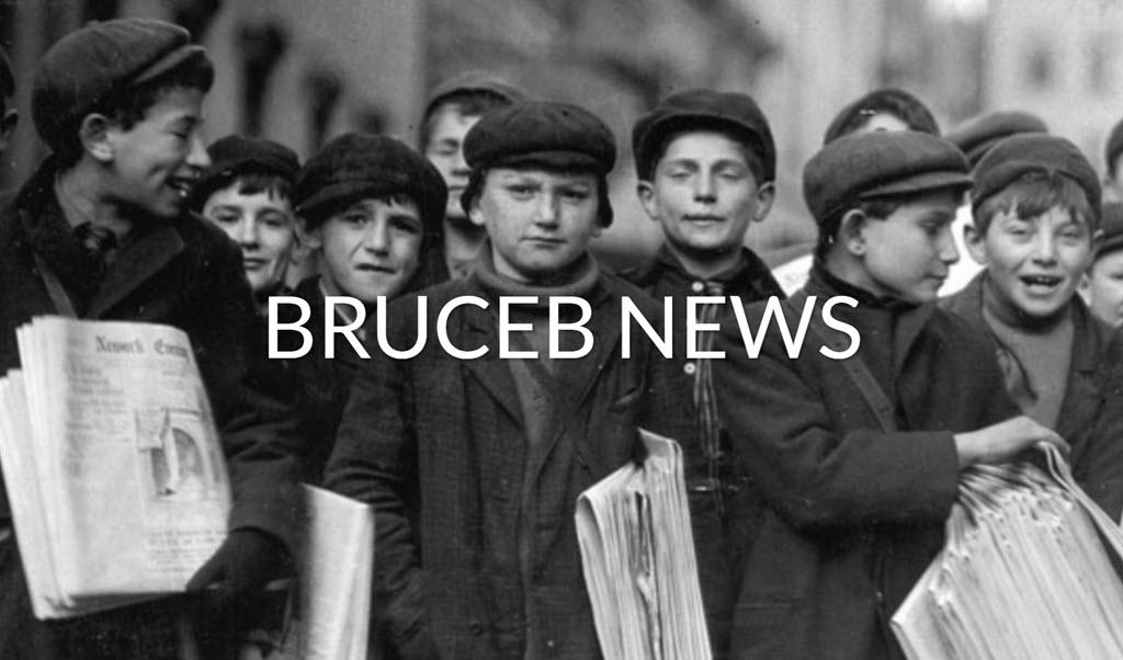 Bruceb.com website - Bruceb News