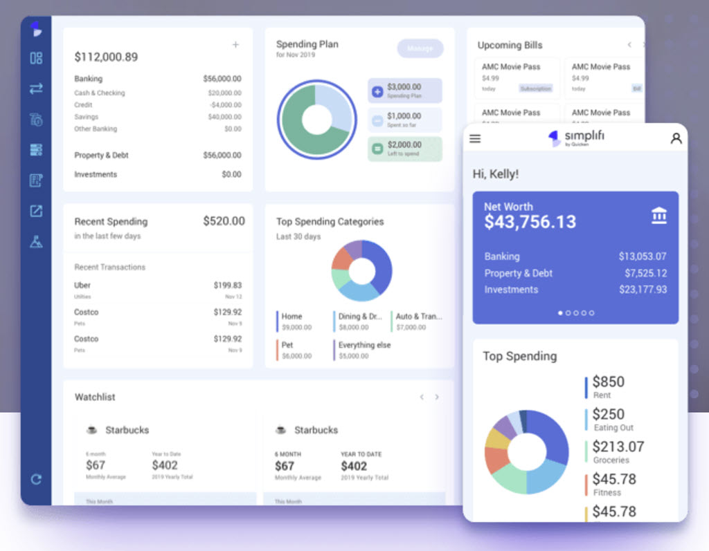 Simplifi - new money management app from makers of Quicken