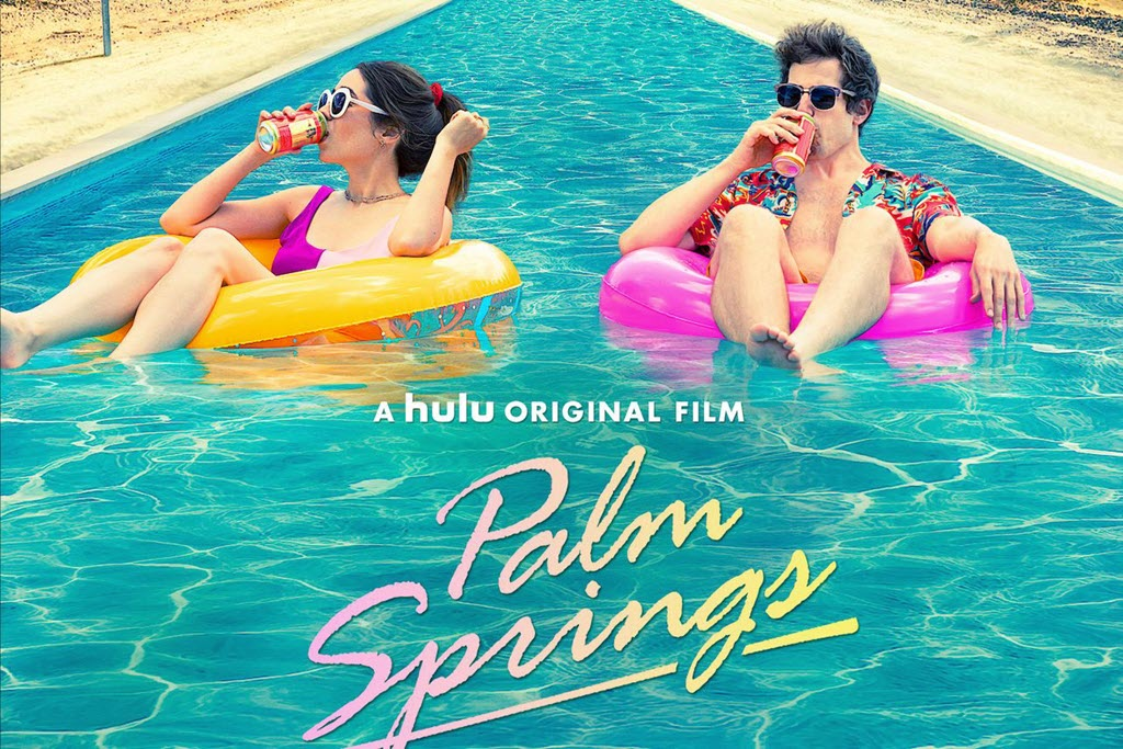 Palm Springs, romantic comedy starring Andy Samberg - only on Hulu