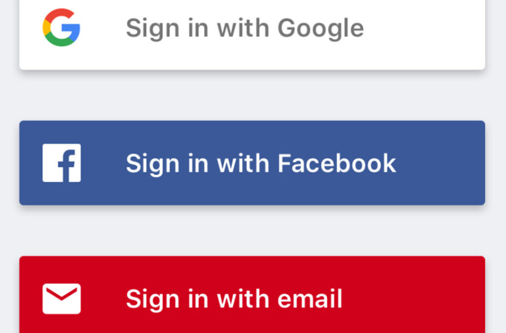 "Should You ""Sign In With Facebook""?"