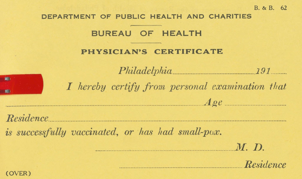This Ain't Our First Vaccine Certificate Rodeo