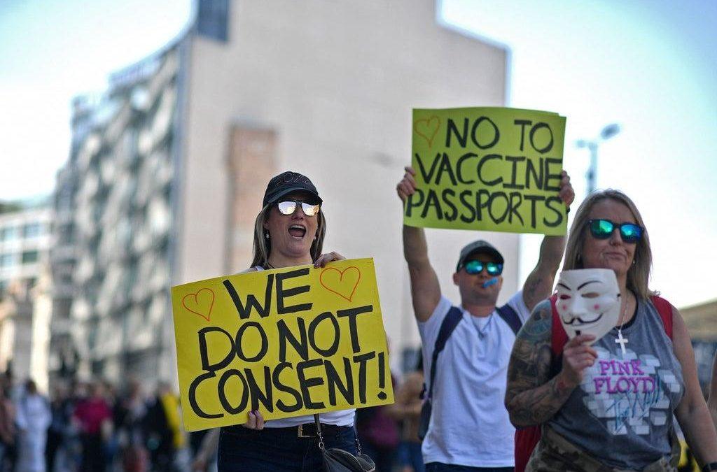 Vaccine Passports And Made-Up Crap
